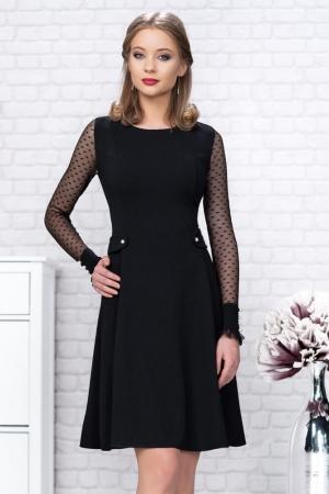 Rochie midi de ocazie Dasha, negru