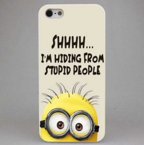 Sale Minion Case - iPhone 8 , 8 Plus , X
