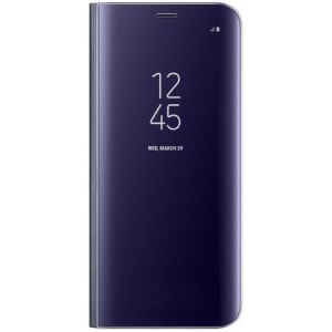 Husa flip Clear View Samsung Galaxy S8 (violet)