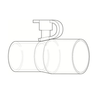 Adaptor furtun CPAP pentru aport de oxigen - Philips Respironics1