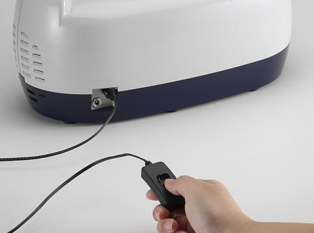 Aspirator Secretii VAC Plus 800 ml, 600 mmHg, 24 LPM, cu baterie6