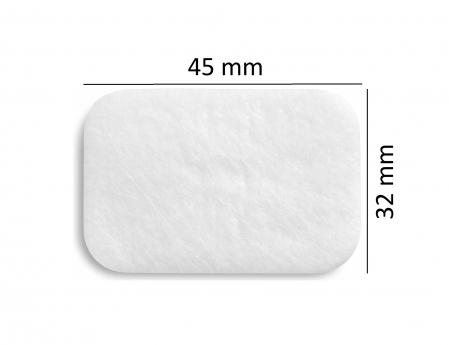 Filtru alb particule fine ( > 0.3 μm) CPAP DeVilbiss (SleepCube, Blue, Cube 30 ATV)1
