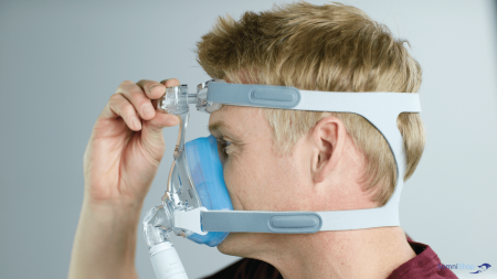 Masca CPAP Full Face AMARA Gel