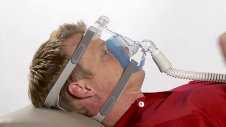 Masca CPAP Full Face Amara Gel5