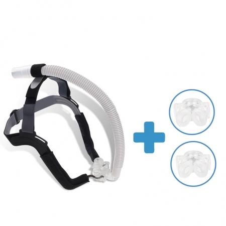 Oferta: Masca CPAP Pillow ALOHA + 2 x Narine Siliconate de schimb0