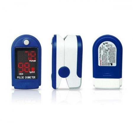 Pulsoximetru CMS50DL (Display LED, SpO2, PR, PI & Plethysmogram, Pulse Bar)4