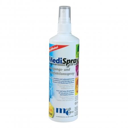 Solutie spray pt. curatare/dezinfectare masca CPAP - MediSpray Lemon (250 ml)0