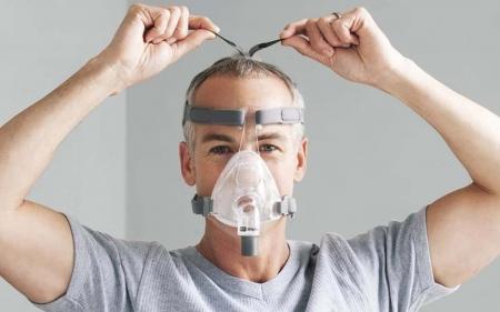 Masca CPAP Full Face F&P Simplus3