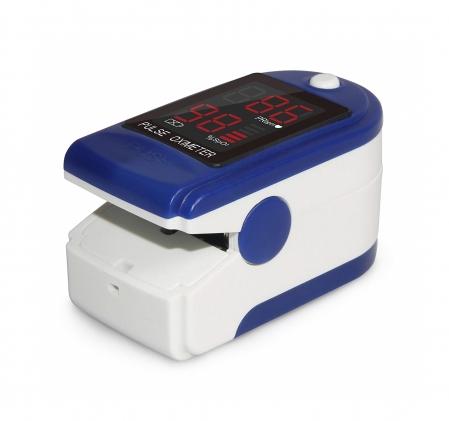Pulsoximetru CMS50DL (Display LED, SpO2, PR, PI & Plethysmogram, Pulse Bar)1