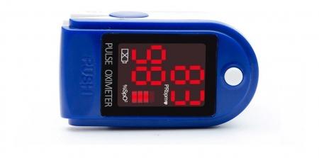 Pulsoximetru CMS50DL (Display LED, SpO2, PR, PI & Plethysmogram, Pulse Bar)3