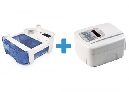 Оферта: Автоматичен APAP SleepCube AutoPlus + Подгряващ овлажнител за SleepCube0