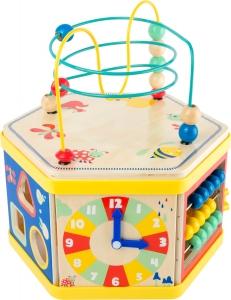 Cub de lemn educativ Energie si Miscare0