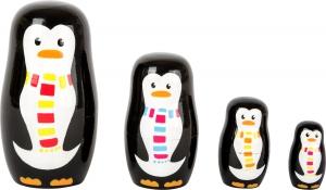Familia de pinguini Matryoshka0