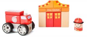 Brigada de pompieri - set de construit cu sunet2