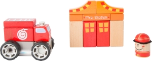 Brigada de pompieri - set de construit cu sunet3