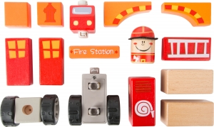 Brigada de pompieri - set de construit cu sunet1
