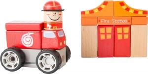 Brigada de pompieri - set de construit cu sunet0