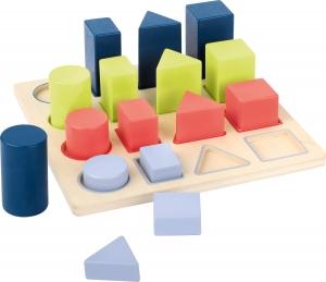 Forme si culori, puzzle 3D din lemn2
