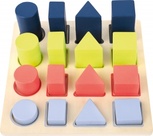 Forme si culori, puzzle 3D din lemn5