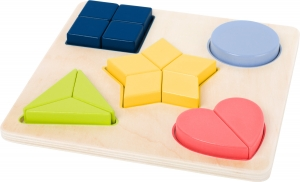 Puzzle educativ Potriveste Formele2