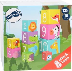 Cuburi de construit cu animale salbatice3
