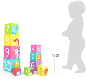 Cuburi de construit cu animale salbatice5