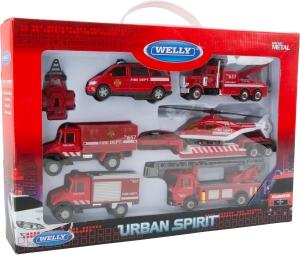 Set cadou vehicule pompieri1