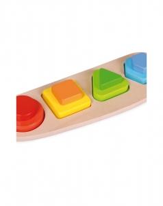Puzzle 4 forme si culori1