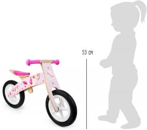 Bicicleta de echilibru Unicornul Roz2
