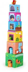 Cuburi de construit cu figurine0