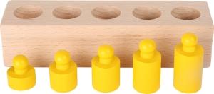 Joc cilindri colorati Montessori6