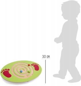 Placa de echilibru copii din lemn3