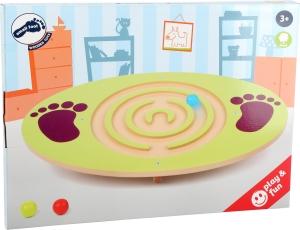Placa de echilibru copii din lemn2