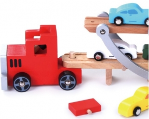 Platforma transport masinute din lemn1