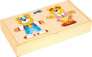 Puzzle lemn Imbraca ursuletii2