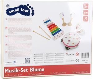 Set instrumente muzicale Floricele colorate2