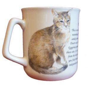 Cana ceramica The Abessinian Cat - E06-1034