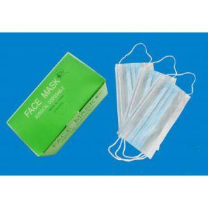 Masti chirurgicale cu 3 pliuri, cu elastic - 50 buc/cutie