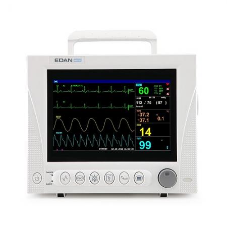 Monitor functii vitale iM8B VET, ecran LCD 10