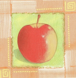 Șervețel decorativ măr