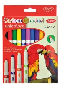 Carioca 12C varf conic Unicolora