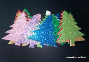25 brazi multicolor spumă AA