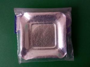 Farfurii argintii 9 cm