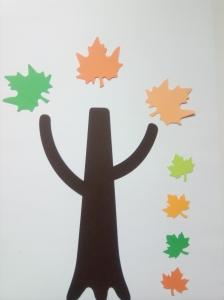 Copacul toamnei - set creativ2