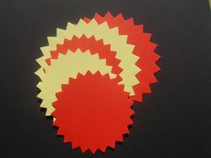 Cercuri decorative mari