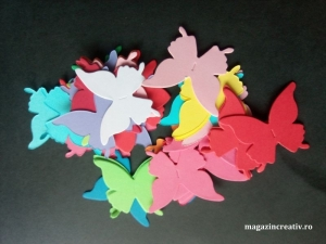 Fluturi coloraţi
