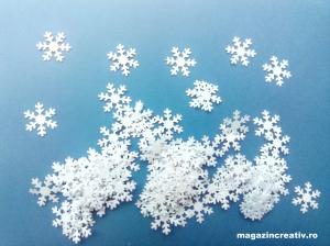 Fulgi zăpadă 2,5 cm