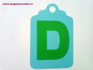 Ghirlandă cu litere sau cifre - 1 element8