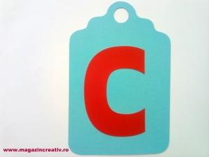 Ghirlandă cu litere sau cifre - 1 element1
