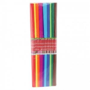 Hârtie creponată asortată 10 culori